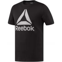 Reebok STACKED LOGO CREW NEW - Pánske tričko
