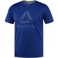 Reebok RUN GRAPHIC TEE - Pánske tričko