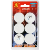 Giant Dragon WHT PI PO MICKY 6PCS