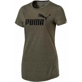 Puma ESS TEE HEATHER W - Dámske tričko