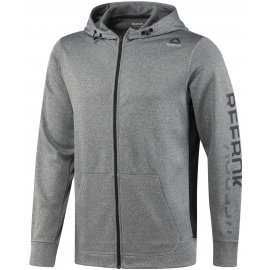 Reebok WORKOUT READY POLY FLEECE FULL ZIP