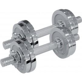 Fitforce ADBC 2x7,5 kg - Jednoručná nakladacia činka