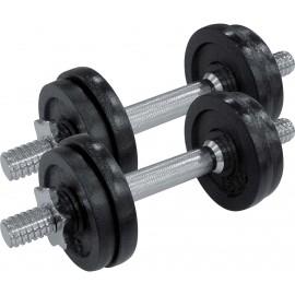 Fitforce ADBB 2x 7,5 kg - Jednoručná nakladacia činka