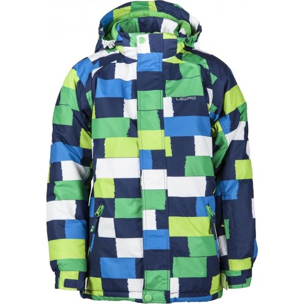 Lewro LAUREL 116-134 - Chlapčenská snowboardová bunda