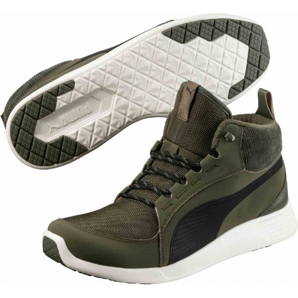 Puma ST TRAINER EVO DEMI V2 CORDUROY - Pánska zimná obuv
