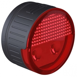 SP Connect ROUND LED SAFETY LIGHT RED