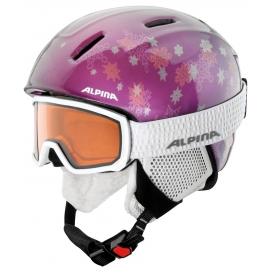 Alpina Sports SCARABEO JR DH - Juniorské lyžiarske okuliare