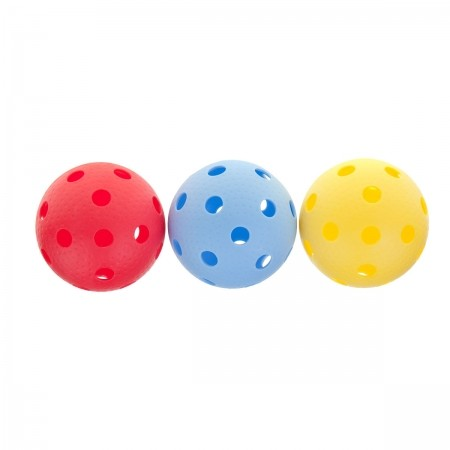 Sada 3 floorballových loptičiek - Kensis YM-003C