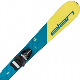 Elan RS BLUE+EL 4.5 VRT - Detské zjazdové lyže