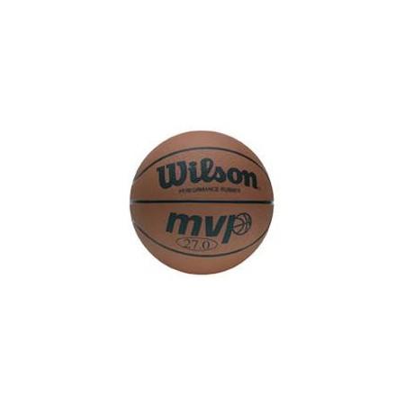 MVP Traditional Series - Basketbalová lopta - Wilson B9054X MVP BROWN SZ5 BBALL