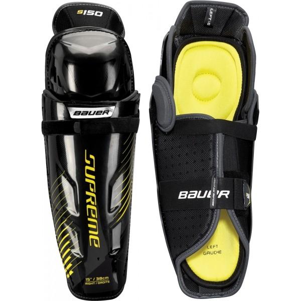 Bauer SUPREME S150 SHIN GUARD SR - Hokejové chrániče holení