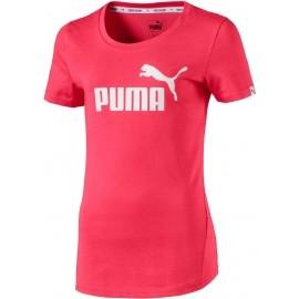 Puma STYLE ESS LOGO TEE - Dievčenské tričko