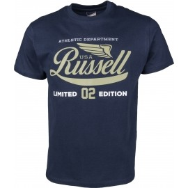 Russell Athletic S/S NECK CREW RA PRINT