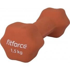 Fitforce JEDNORUČNÁ ČINKA 1.5KG - Jednoručná činka