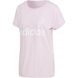 adidas ESSENTIALS LINEAR LOOSE TEE - Dámske tričko