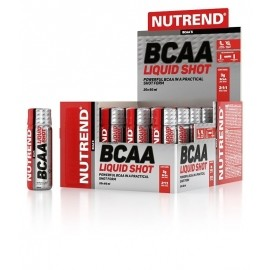 Nutrend BCAA LIQUID SHOT 20x60 ML - BCAA SHOT