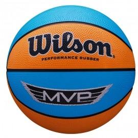 Wilson MVP MINI RBR BSKT - Mini basketbalová lopta