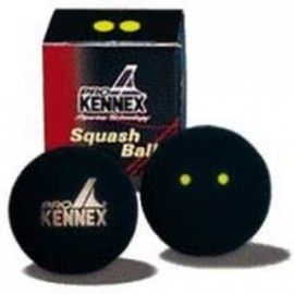 Pro Kennex SQ MÍČ ŽLUTÝ DVĚ TEČKY - Squashová loptička