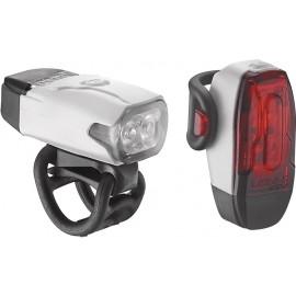 Lezyne LED KTV DRIVE PAIR - Set prednej a zadnej blikačky
