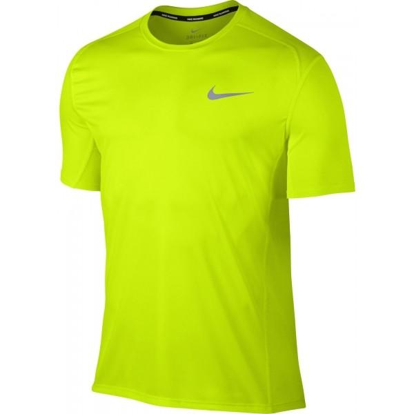 Nike DRY MILER TOP SS - Pánske bežecké tričko