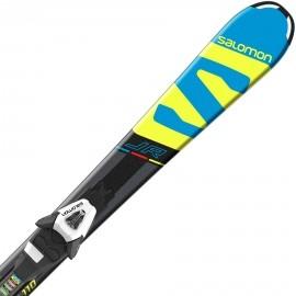 Salomon E X-RACE JR S + E C5 - Juniorské zjazdové lyže