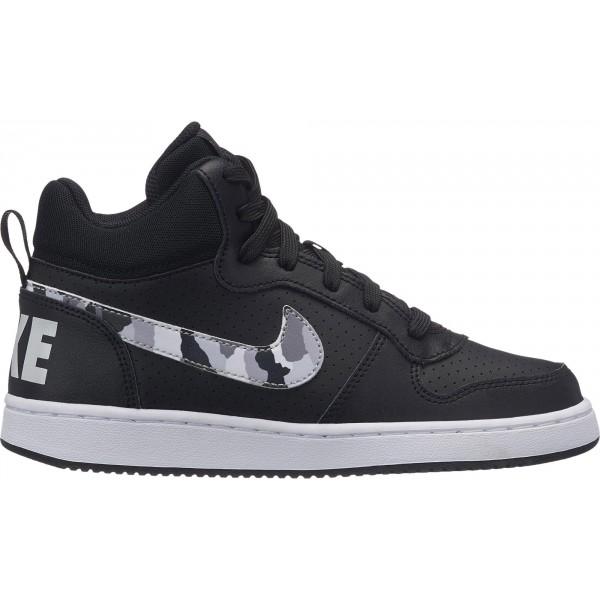 Nike COURT BOROUGH MID (GS) - Detská obuv