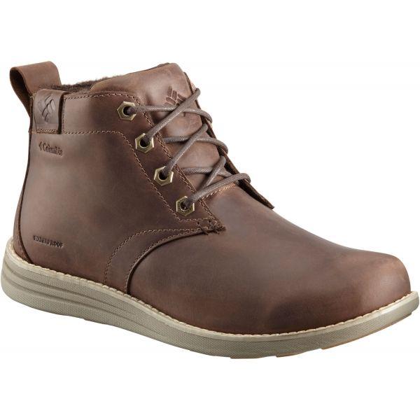 Columbia IRVINGTON II CHUKKA LTR WP - Pánska vychádzková obuv