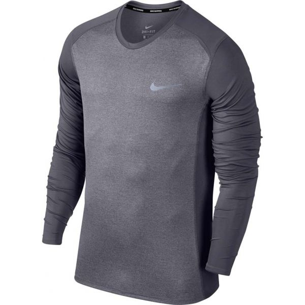Nike M NK MILER TOP LS - Pánske tričko