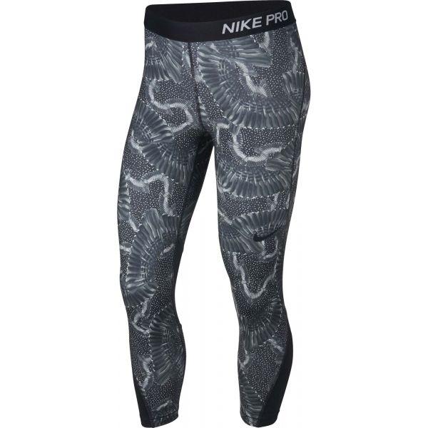 Nike CROP PRT CHAIN FEATHER - Dámske športové legíny