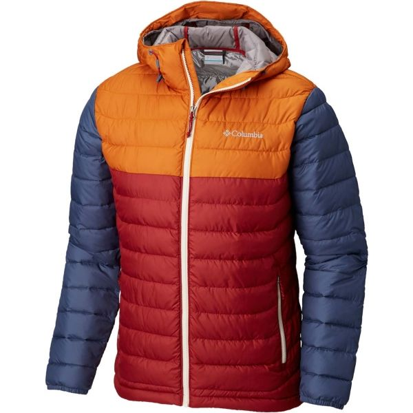 Columbia POWDER LITE HOODED JACKET - Pánska zimná bunda Columbia