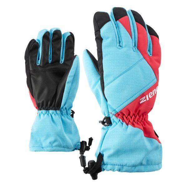 Ziener AGIL AS JUNIOR PURPLE - Detské lyžiarske rukavice