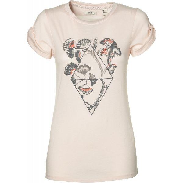 O'Neill LW CASTLE PEAK PRINT T-SHIRT - Dámske tričko