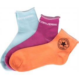 Converse WOMEN QUARTER STAMP LOGO - Dámske ponožky