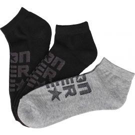 Converse MEN'S MESH LOGO - Pánske ponožky