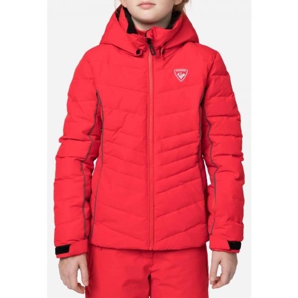 Rossignol POLYDOWN G - Dievčenská lyžiarska bunda