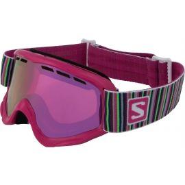 Salomon JUKE - Dievčenské lyžiarske okuliare