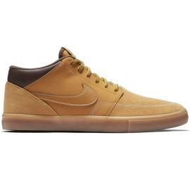 Nike SB PORTMORE II SOLARSOFT MID - Pánska voľnočasová obuv 51aafdd3f23