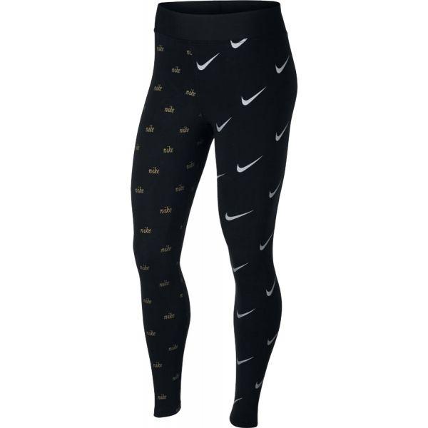 Nike NSW LGGNG METALLIC - Dámske legíny
