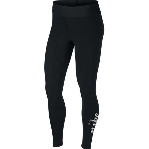 Nike NSW LGGNG METALLIC GX - Dámske legíny