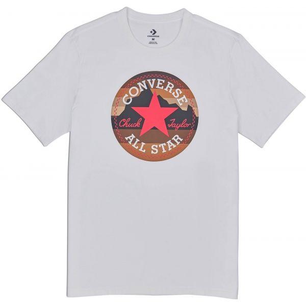 Converse MOUNTAIN CHUCK PATCH TEE - Pánske tričko