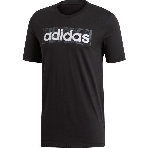 adidas E LIN AOP BOX T - Pánske tričko