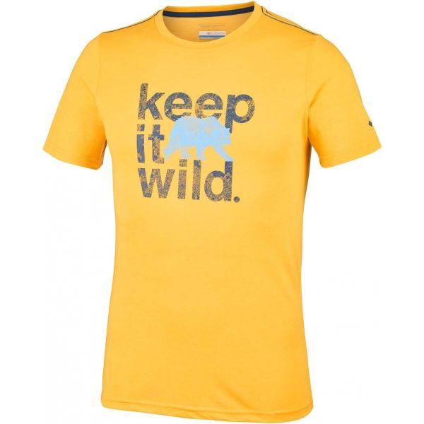 Columbia MILLER VALLEY SHORT SLEEVE TEE - Pánske tričko