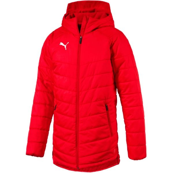 Puma LIGA SIDELINE BENCH JACKET - Pánska zimná bunda