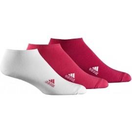 adidas LIN PLAIN T 3PP - Športové kotníkové ponožky