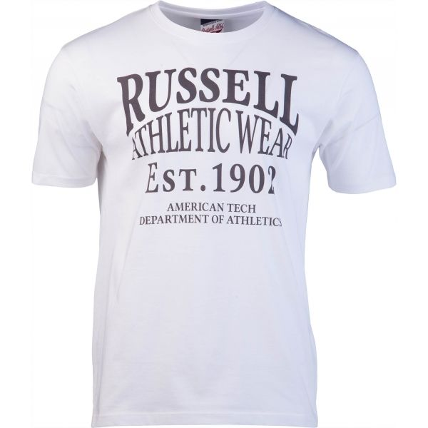 7542cadf6600 Russell Athletic AMERICAN TECH S S CREWNECK TEE SHIRT - Pánske tričko