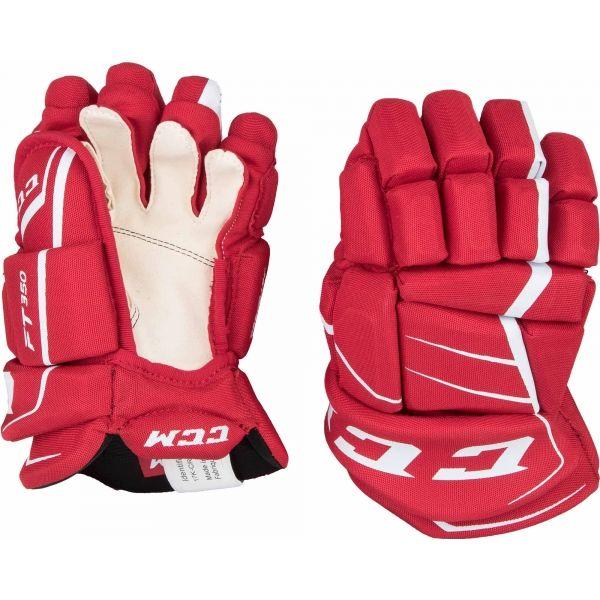 CCM JETSPEED 350 JR - Detské hokejové rukavice