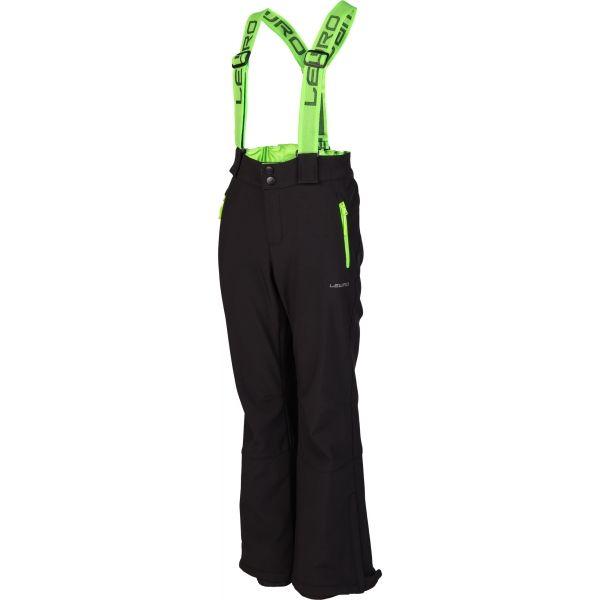 Lewro NUKA - Detské lyžiarske softshellové nohavice