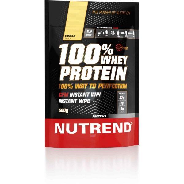 Nutrend 100% WHEY PROTEIN 500G VANILKA - Proteín