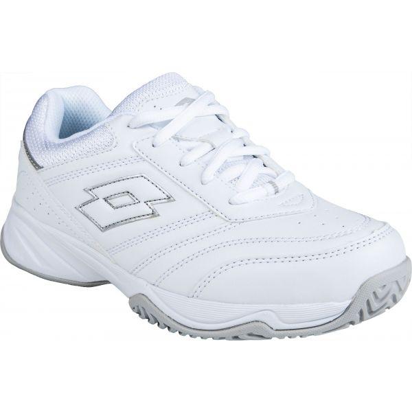 Lotto COURT LOGO JR LACES - Detská tenisová obuv