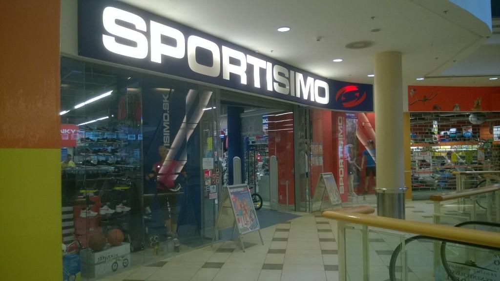 SPORTISIMO Košice  - OC Galéria